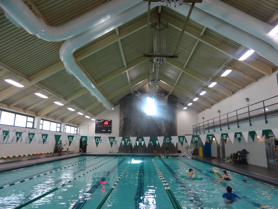 Clark Sports Complex Pool After Eastern Energy Solutions Lighting Upgrade
