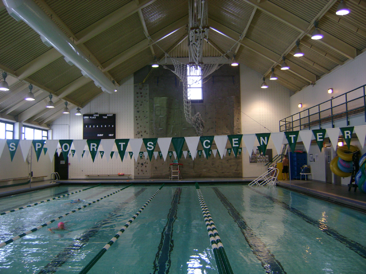 Clark Sports Complex Pool Before Eastern Energy Solutions Lighting Upgrade