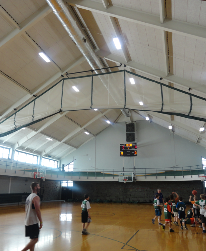 Clark sports center after Eastern Energy Solutions