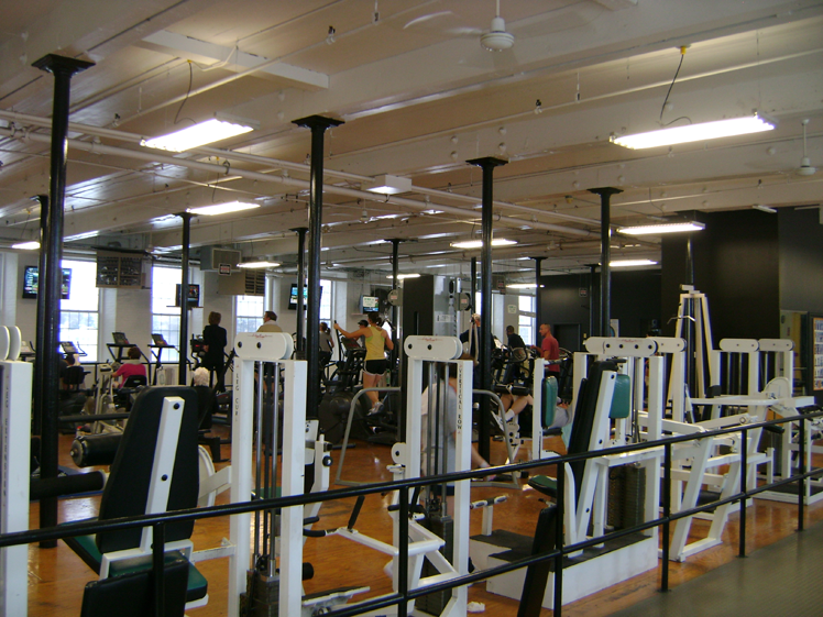 Fitness-Mill Eastern Energy Lighting Project