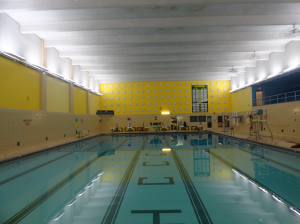 HCCC pool lighting AFTER Eastern Energy Solutions upgrade