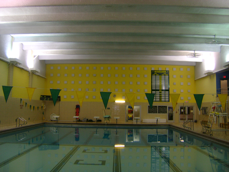 HCCC pool before lighting upgrade