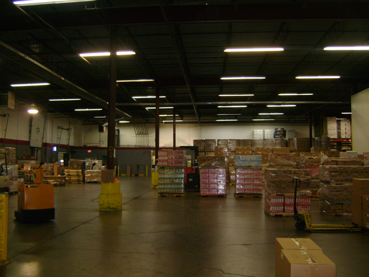 River Valley Foods Before Eastern Energy Solutions Lighting Upgrade