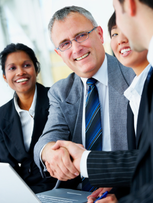 Eastern-Energy-Services-Financial-Services Handshake and teamwork